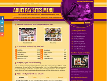 Top porno sito Web